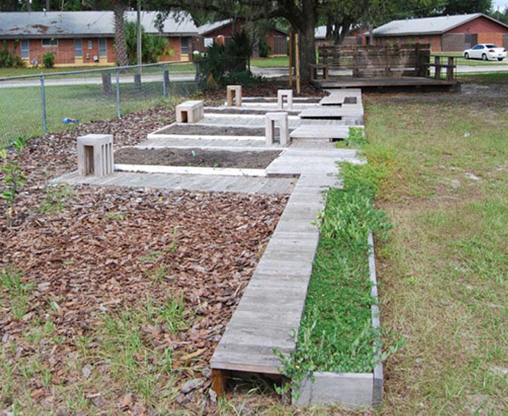 Boys And Girls Club Community Garden 2008