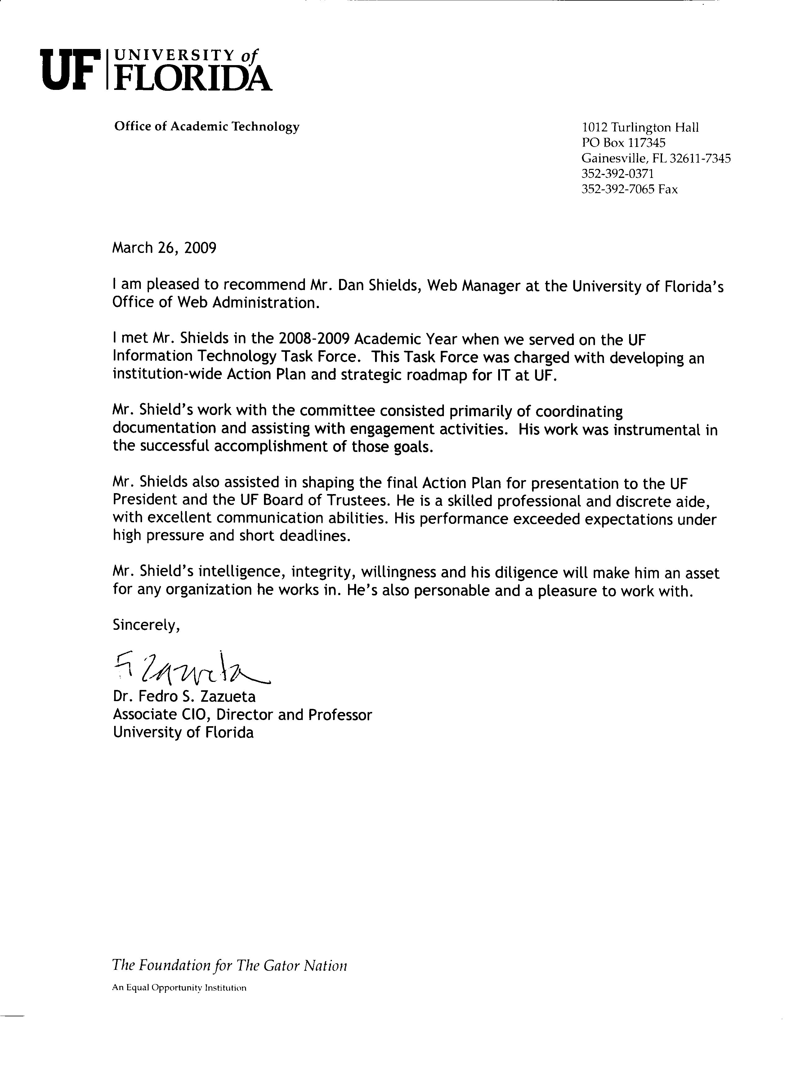 letter of recommendation uf   Hadi.palmex.co
