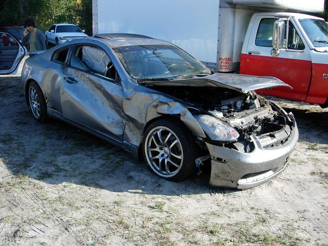 New Infiniti G35 Coupe >> Wrecked My 05 G35c; New pictures of my 06 g35C - G35Driver - Infiniti G35 & G37 Forum Discussion