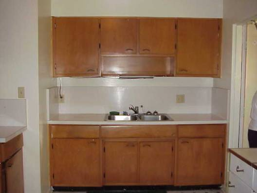 Kitchen cabinets and sink ? sink leaks and someelectrical outlets