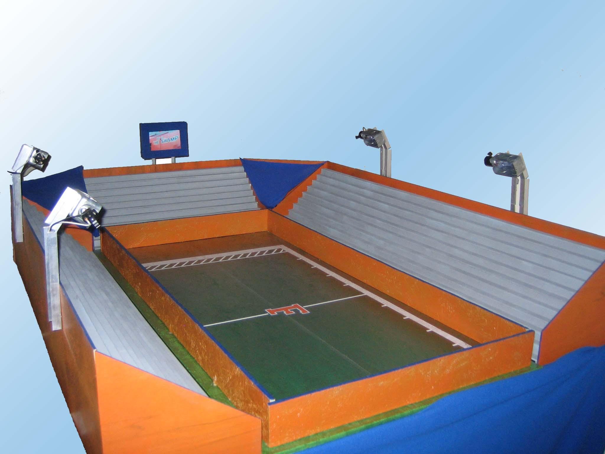 paper football stadium