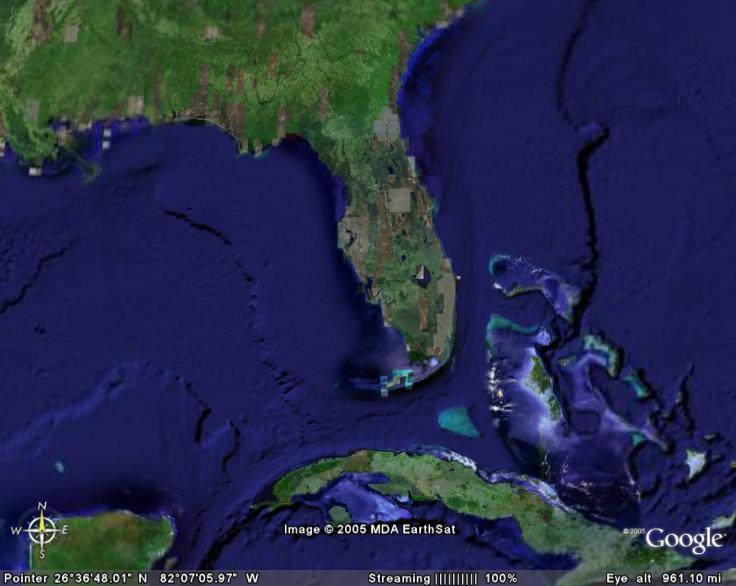 Google Earth Pine Island Florida