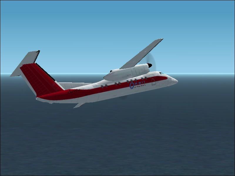 Airwave And Orbit Airlines Express De Havilland Dash 8