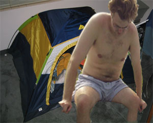 fray fart tent