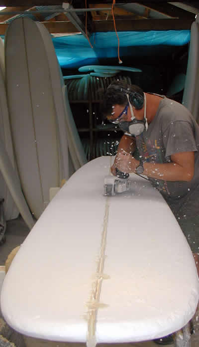 Surfboard Production Process
