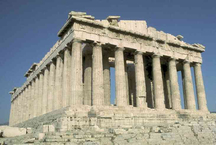 Greek Architecture The Parthenon Erechtheum